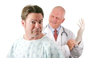 Mannengedoe: prostaatproblemen