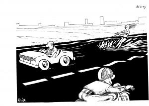 De weg op in de jaren zeventig en tachtig