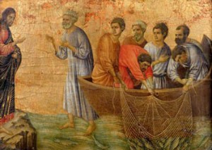 Waarom de apostelen vissers zijn