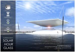 Solar Hourglass: geweldig (en nuttig) design in Kopenhagen