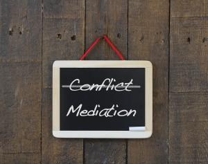 Wijze mensen zijn mediators