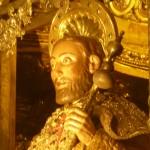 foto 1 Altaarbeeld van St. Jacob in de katedraal van Santiago