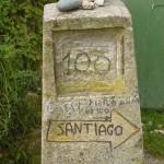 De Camino francés naar Santiago