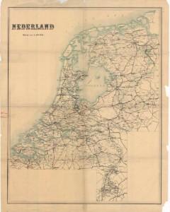 Oude topografische kaarten in te zien