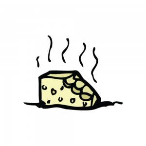 smelly cheese drawing